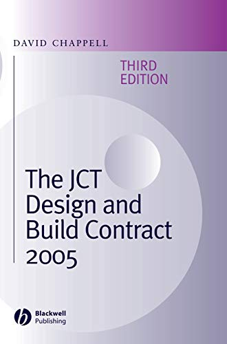 9781405159241: The JCT Design and Build Contract 2005