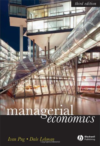 9781405160476: Managerial Economics