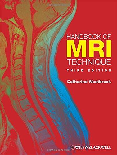 9781405160858: Handbook of MRI Technique