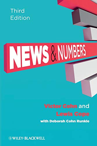 9781405160964: News and Numbers: A Writer's Guide to Statistics