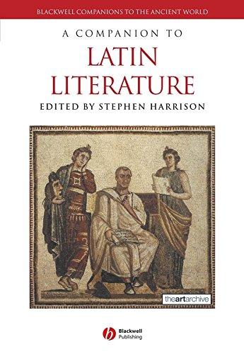 9781405161312: A Companion to Latin Literature