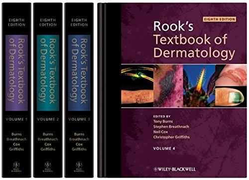 9781405161695: Rook's Textbook of Dermatology, 4 Volume Set