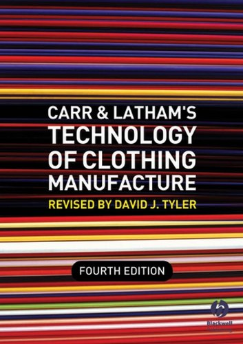 9781405161985: Carr and Latham's Technology of Clothing Manufacture