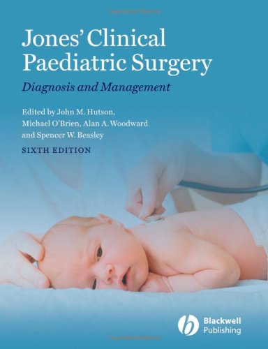 9781405162678: Jones' Clinical Paediatric Surgery: Diagnosis and Management