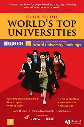 9781405163125: Guide to the World's Top Universities: Exclusively featuring the complete THES / QS World University Rankings