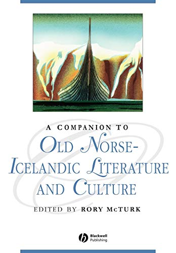 9781405163675: A Companion to Old Norse-Icelandic Literature and Culture