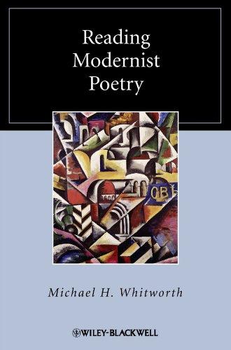 9781405167314: Reading Modernist Poetry