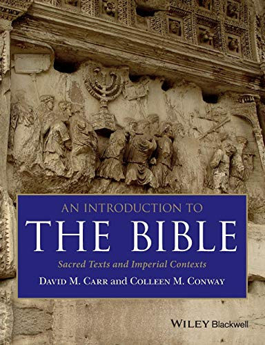 An Introduction to the Bible: Sacred Texts: Carr, David M.;