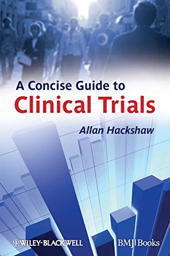 9781405167741: A Concise Guide to Clinical Trials