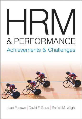 9781405168335: HRM and Performance: Achievements and Challenges