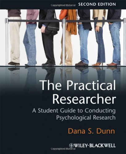 9781405168854: The Practical Researcher: A Student Guide to Conducting Psychological Research