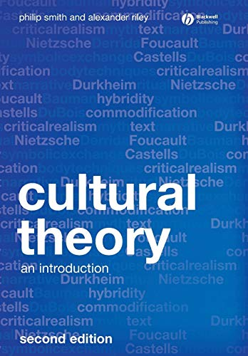 9781405169073: Cultural Theory: An Introduction