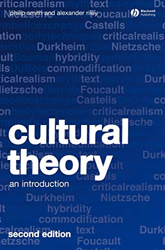9781405169080: Cultural Theory: An Introduction