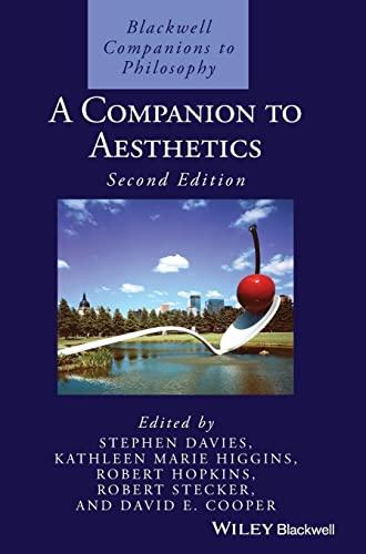 9781405169226: A Companion to Aesthetics
