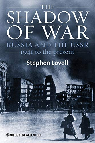 9781405169585: The Shadow of War: Russia and the USSR, 1941 to the present