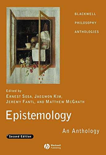 9781405169677: Epistemology: An Anthology (Blackwell Philosophy Anthologies)