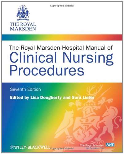 9781405169998: The Royal Marsden Hospital Manual of Clinical Nursing Procedures