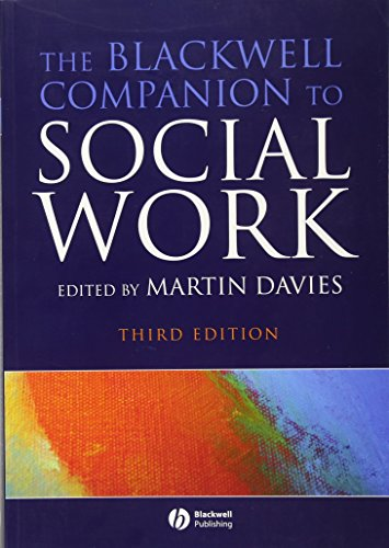 9781405170048: The Blackwell Companion to Social Work (Blackwell Companions)