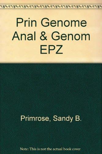 9781405170314: Prin Genome Anal & Genom EPZ