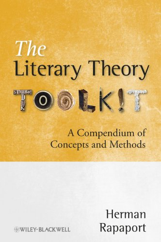 9781405170482: The Literary Theory Toolkit: A Compendium of Concepts and Methods