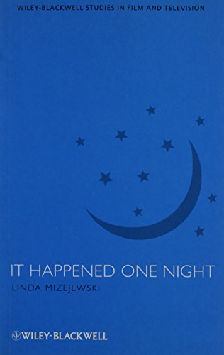 9781405173889: It Happened One Night (WileyBlackwell Series in Film and Television)
