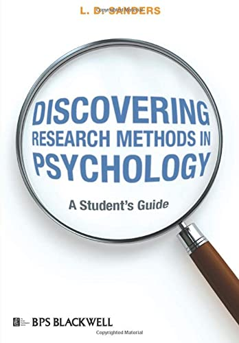 9781405175302: Discovering Research Methods in Psychology: A Student's Guide