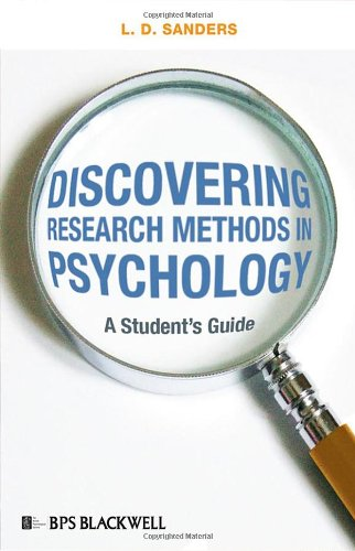9781405175319: Discovering Research Methods in Psychology: A Student's Guide
