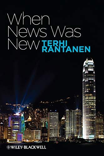 When News Was New: Rantanen, Terhi