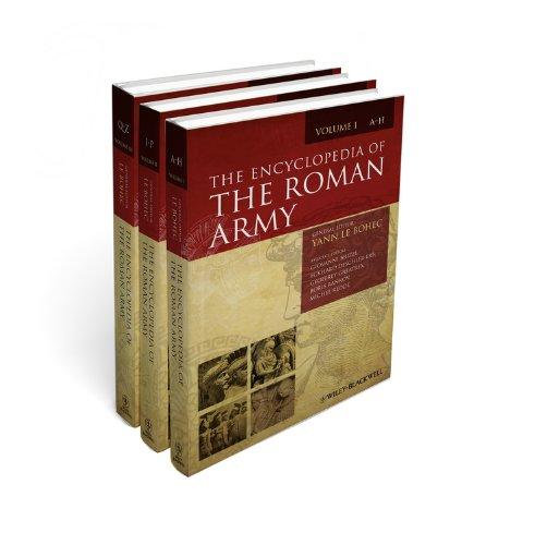 9781405176194: The Encyclopedia of the Roman Army, 3 Volume Set