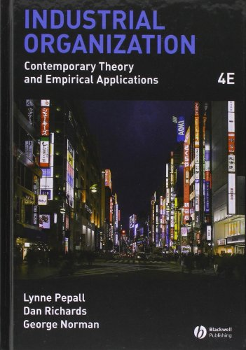 9781405176323: Industrial Organization: Contemporary Theory and Empirical Applications