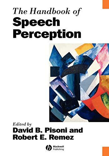 9781405176415: The Handbook of Speech Perception