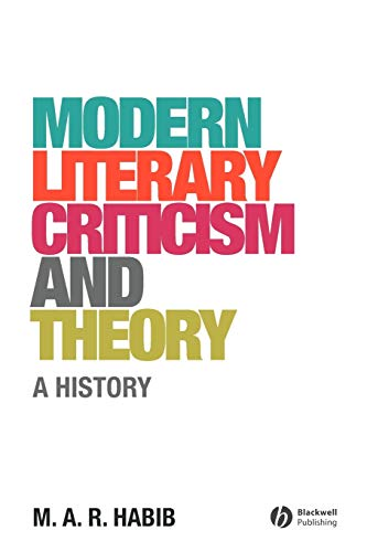 9781405176668: Modern Literary Criticism and Theory: A History
