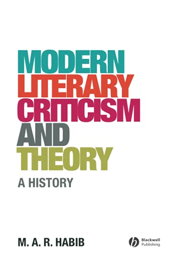 9781405176675: Modern Literary Criticism and Theory: A History