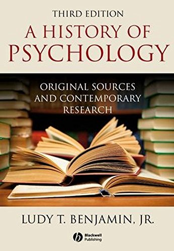 9781405177115: History of Psychology:Original Sources and Contemporary Research 3e