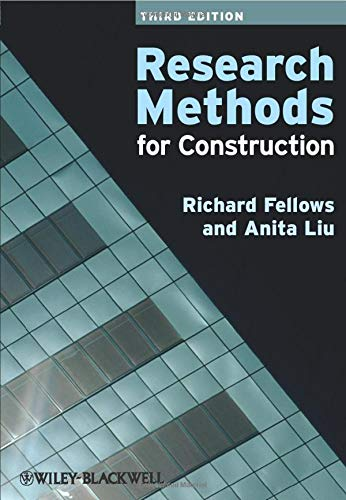 9781405177900: Research Methods for Construction