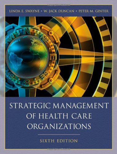 9781405179188: Strategic Management of Health Care Organizations