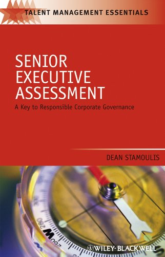 9781405179577: Senior Executive Assessment: A Key to Responsible Corporate Governance