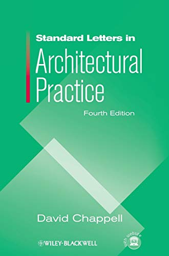 9781405179652: Standard Letters in Architectural Practice