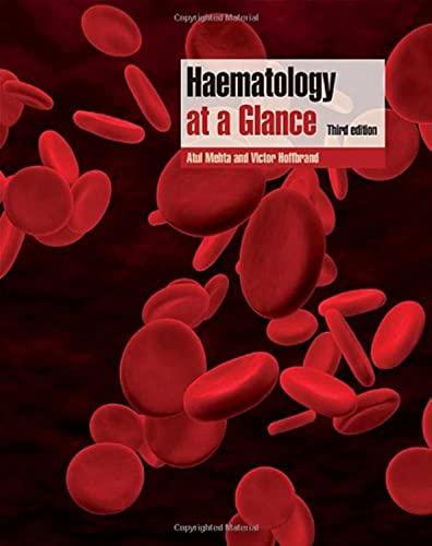 9781405179706: Haematology at a Glance