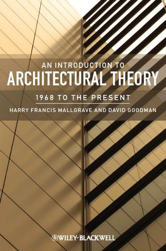 9781405180627: An Introduction to Architectural Theory: 1968 to the Present