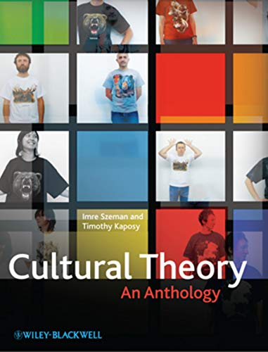9781405180832: Cultural Theory: An Anthology