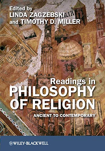 9781405180924: Readings in Philosophy of Religion: Ancient to Contemporary