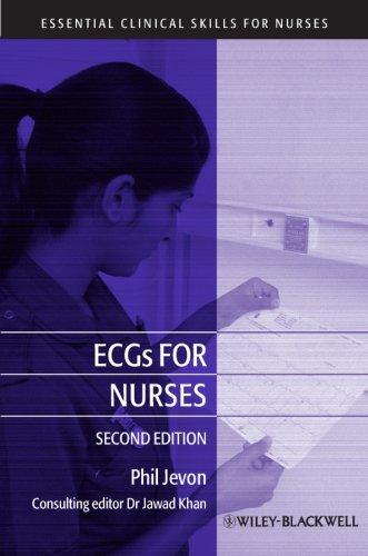 ECGs for Nurses: Philip Jevon (author),