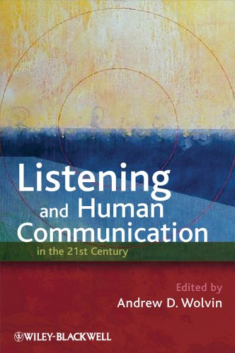 9781405181655: Listening and Human Communication in the 21st Century