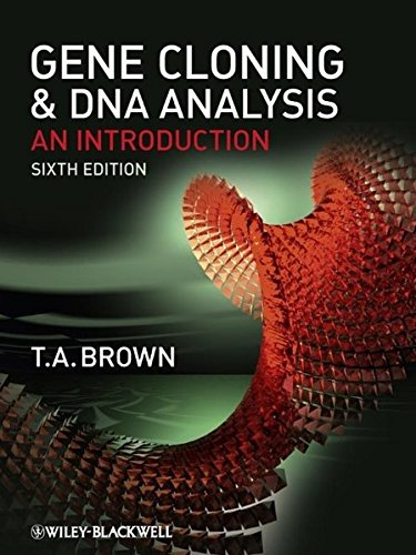 9781405181730: Gene Cloning and DNA Analysis: An Introduction