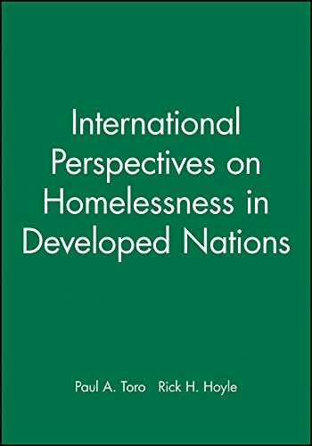 9781405182447: International Perspectives on Homelessness in Developed Nations (Journal of Social Issues)