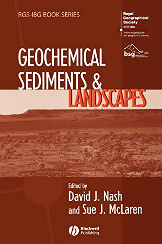 9781405182454: Geochemical Sediments and Landscapes (RGS-IBG Book Series)
