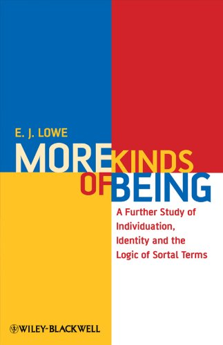 9781405182560: More Kinds of Being: A Further Study of Individuation, Identity, and the Logic of Sortal Terms