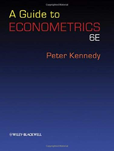 9781405182577: A Guide to Econometrics. 6th edition