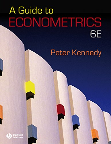9781405182584: A Guide to Econometrics